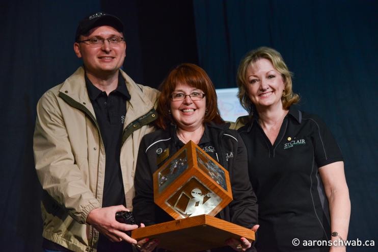 St. Clair College receives the 2014 award